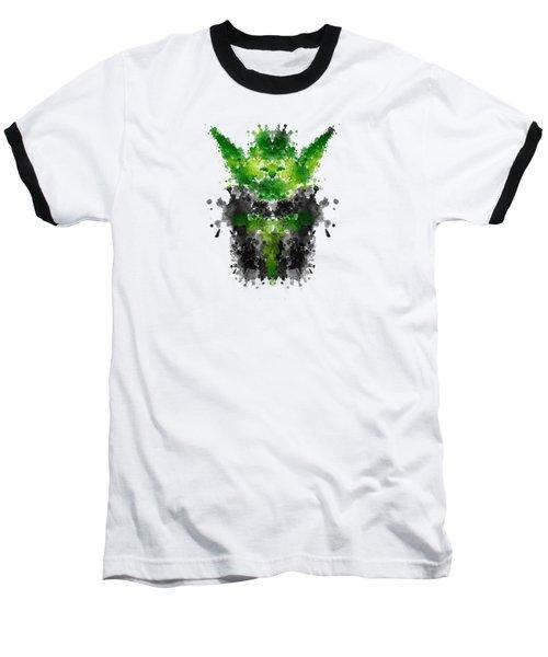 Rorschach Yoda Baseball T-Shirt