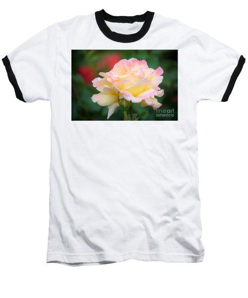 Rose Beauty Baseball T-Shirt