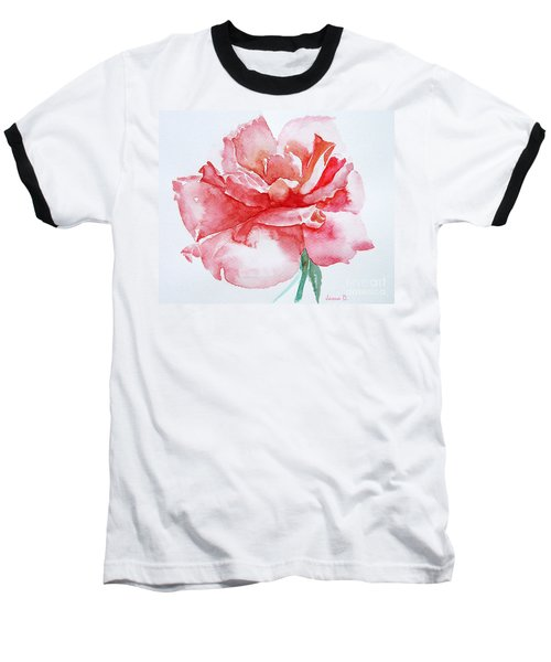 Rose Pink Baseball T-Shirt