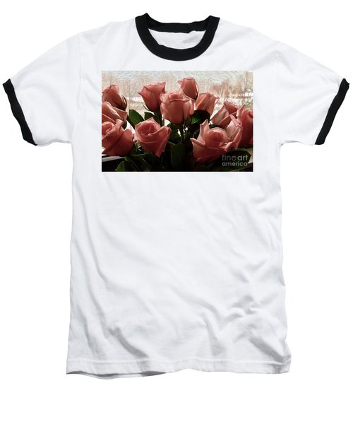 Roses With Love Baseball T-Shirt