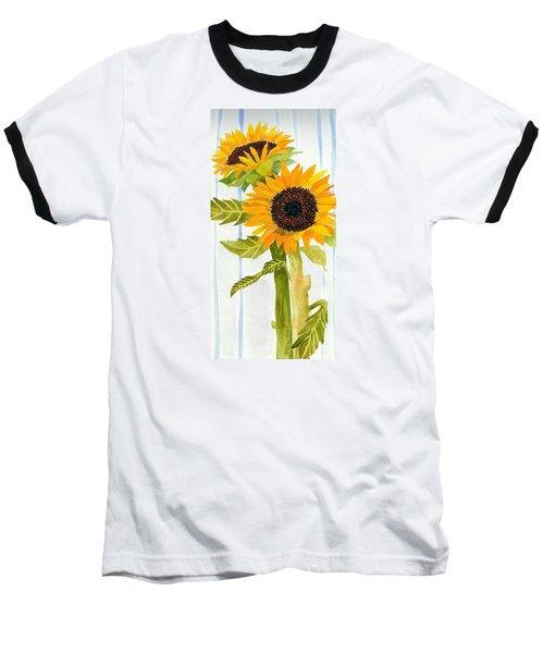Rosezella's Sunflowers II Baseball T-Shirt