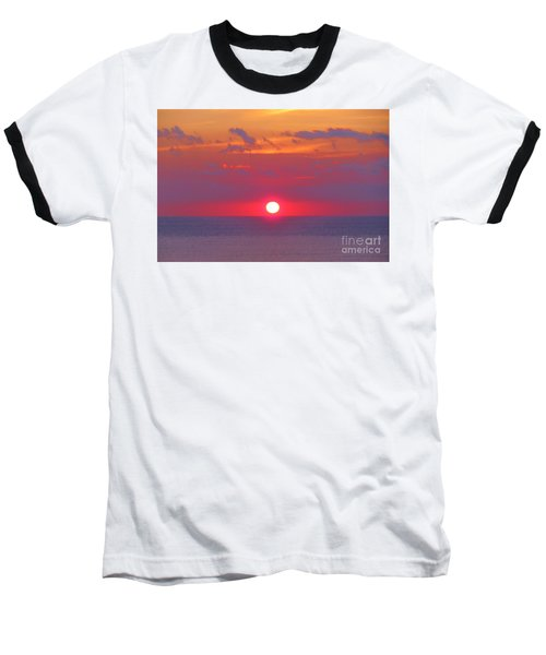 Rosy Sunrise Baseball T-Shirt