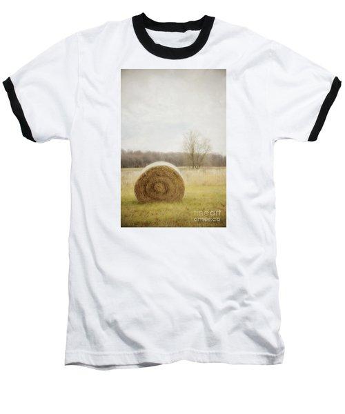 Round Bale O'hay Baseball T-Shirt
