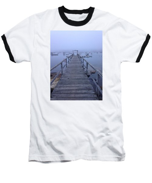 Baseball T-Shirt featuring the photograph Round Pond by Olivier Calas