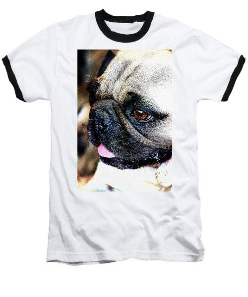 Roxy The Pug Baseball T-Shirt