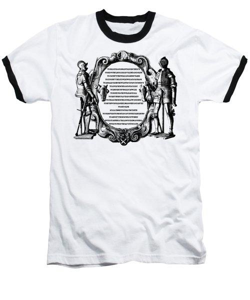 Royal Knights Code Of Ethics Baseball T-Shirt