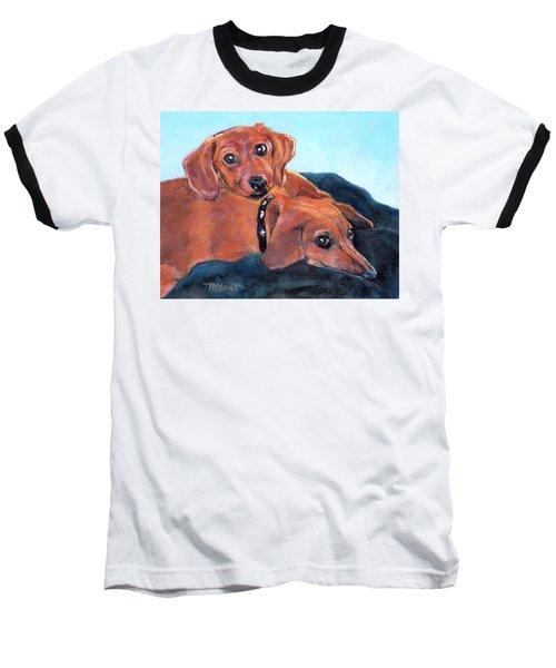 Ruby And Rainbow Baseball T-Shirt