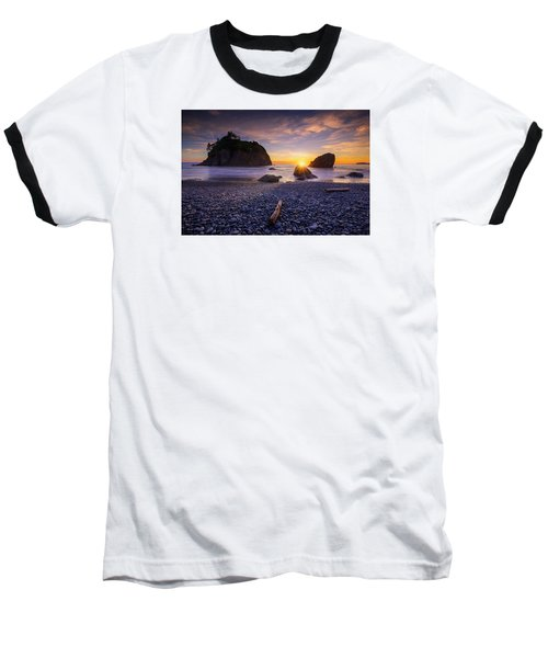 Baseball T-Shirt featuring the photograph Ruby Beach Dreaming by Dan Mihai