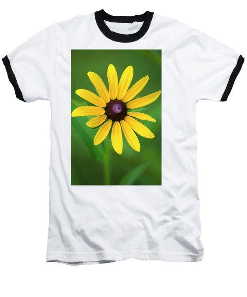 Rudbeckia Flower Baseball T-Shirt