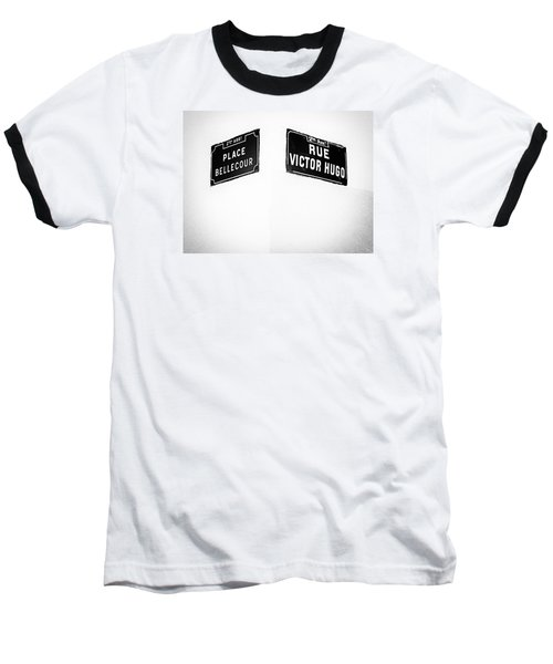 The Corner Of Place Bellecour And Rue Victor Hugo Baseball T-Shirt