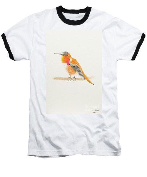 Rufous Hummingbird Baseball T-Shirt