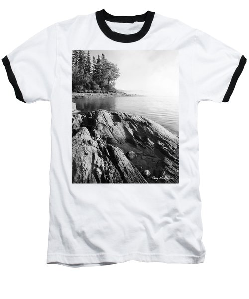 Rugged Lake Shore Baseball T-Shirt