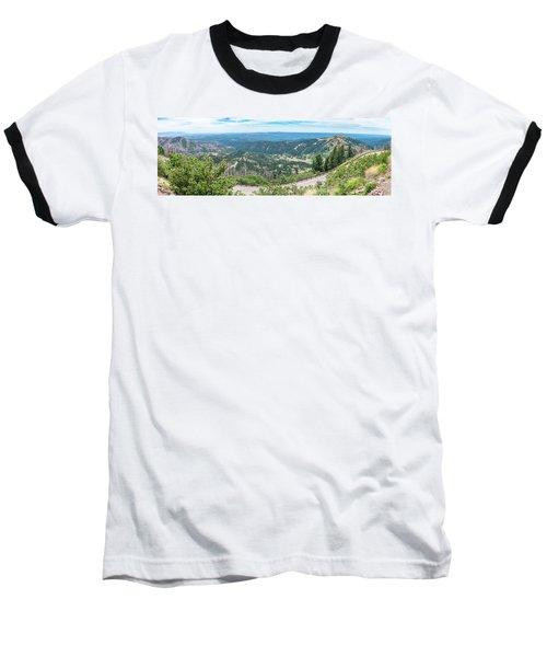 Ruidoso, Nm Panoramic Baseball T-Shirt
