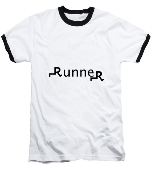 Runner Baseball T-Shirt
