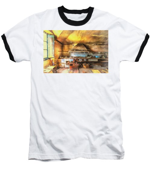 Rural Culinary Atmosphere Nr 2 - Atmosfera Culinaria Rurale IIi Paint Baseball T-Shirt