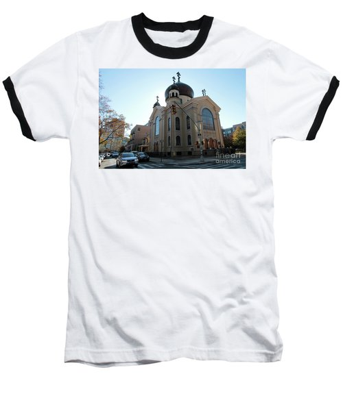 Russian Orthodox Cathedral Of The Transfiguration Of Our Lord Baseball T-Shirt