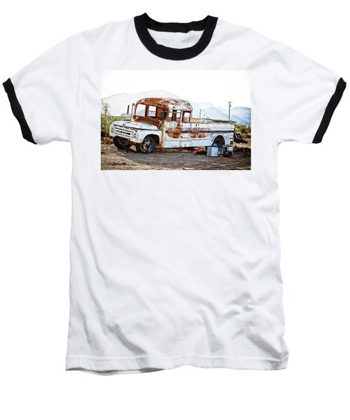 Rusted Abandoned Truck Baseball T-Shirt