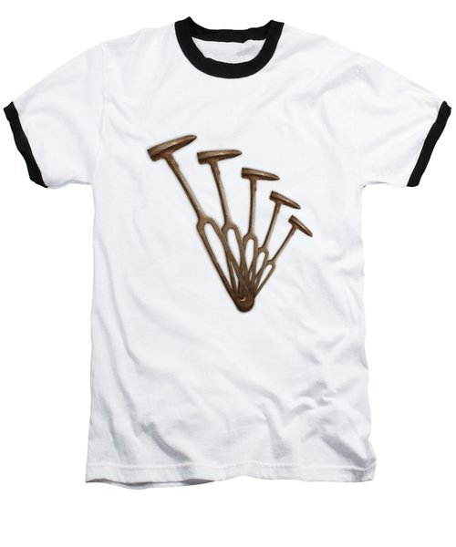 Baseball T-Shirt featuring the photograph Rustic Hammer Pattern by YoPedro
