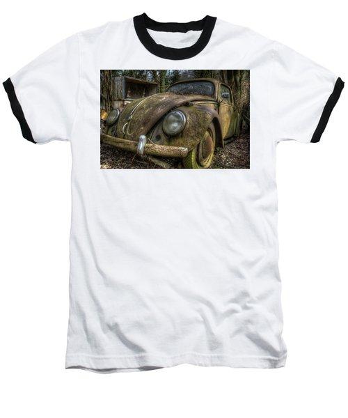 Rusty Vee Dub  Baseball T-Shirt by Nathan Wright