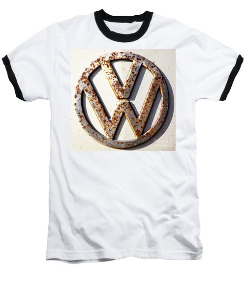 Vintage Vw Sign Baseball T-Shirt