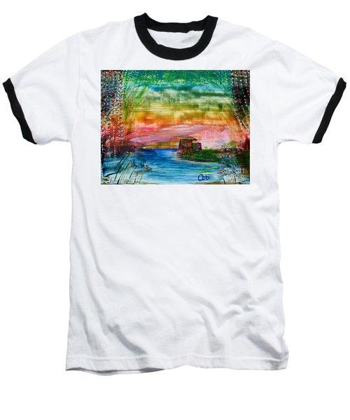 Rv Life Dinnertime Baseball T-Shirt
