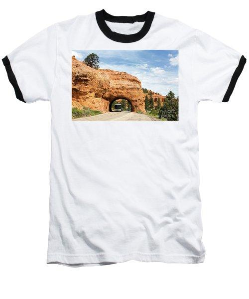 Rv Red Canyon Tunnel Utah Baseball T-Shirt