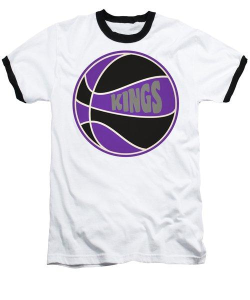 Baseball T-Shirt featuring the photograph Sacramento Kings Retro Shirt by Joe Hamilton