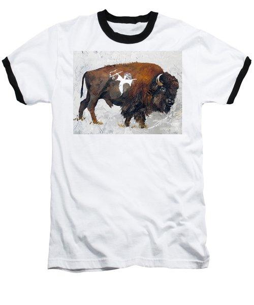 Sacred Gift Baseball T-Shirt by J W Baker