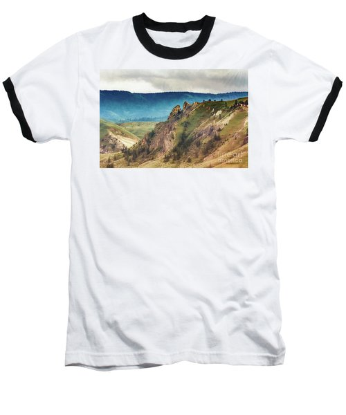Saddlerock Mountain Baseball T-Shirt
