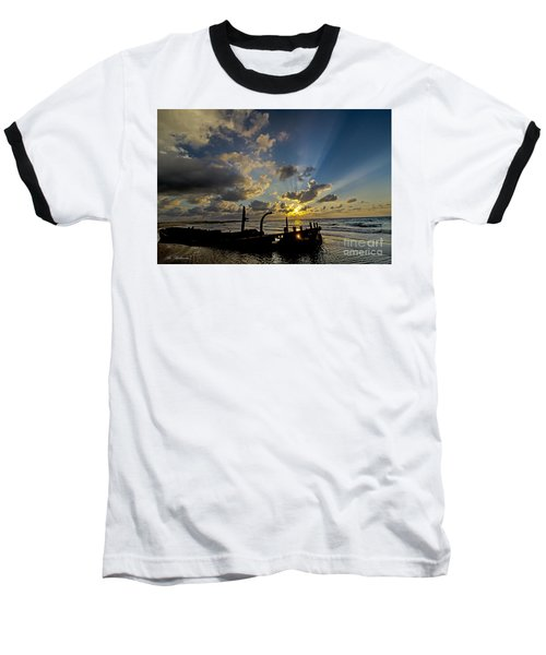 Safe Shore 03 Baseball T-Shirt