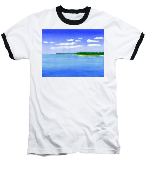Sag Harbor, Long Island Baseball T-Shirt by Dick Sauer