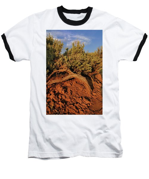 Sagebrush At Sunset Baseball T-Shirt
