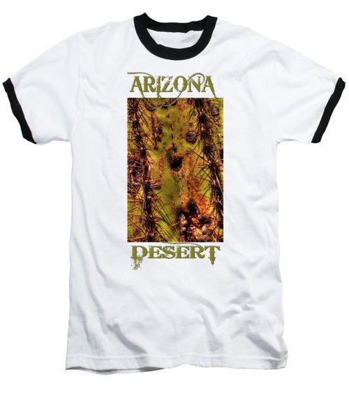 Saguaro Detail No. 25 Baseball T-Shirt