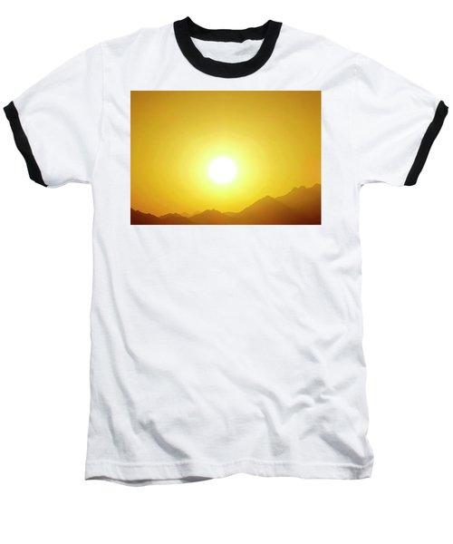 Sahara Sunset 2 Baseball T-Shirt