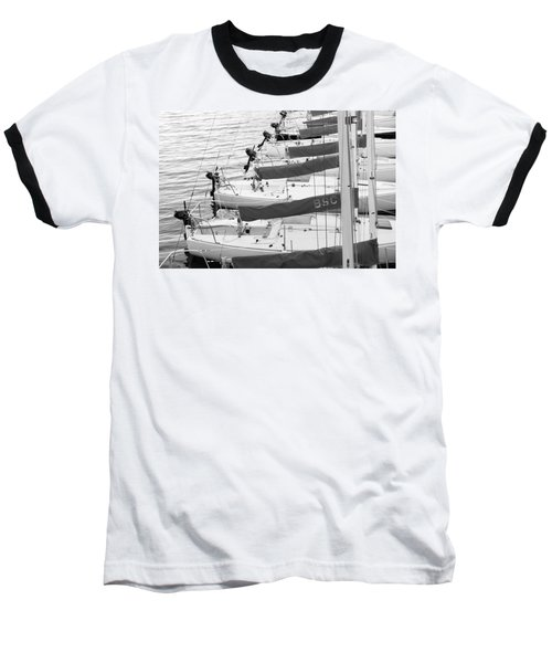 Sailboats Baseball T-Shirt
