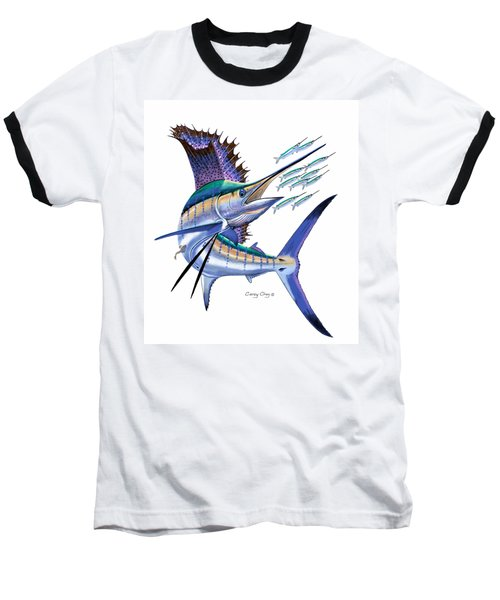 Sailfish Digital Baseball T-Shirt