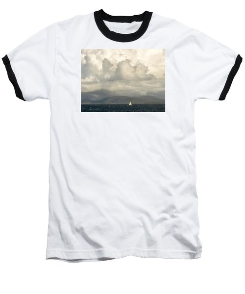 Sailing Scottish Seas Baseball T-Shirt