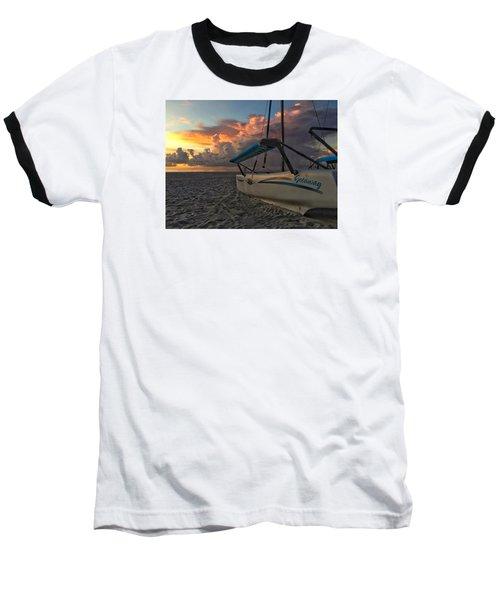 Sailing Still Baseball T-Shirt