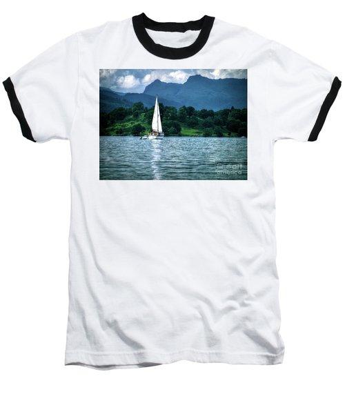 Sailing The Lakes Baseball T-Shirt