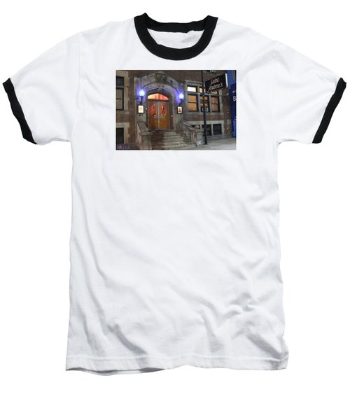 Baseball T-Shirt featuring the photograph Saint Andrew's Music Hall by Michael Rucker