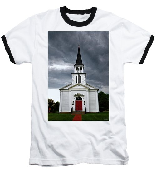Baseball T-Shirt featuring the photograph Saint James Episcopal Church 002 by George Bostian