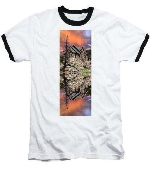 Saint Malo Panorama Baseball T-Shirt