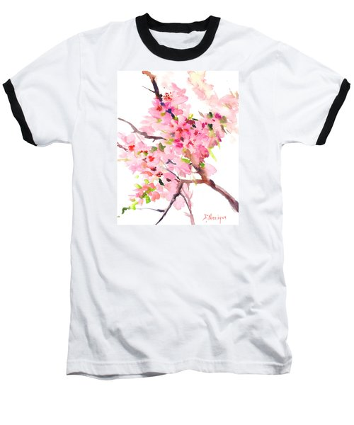 Sakura Cherry Blossom Baseball T-Shirt