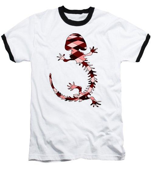 Salamander Skeleton Baseball T-Shirt