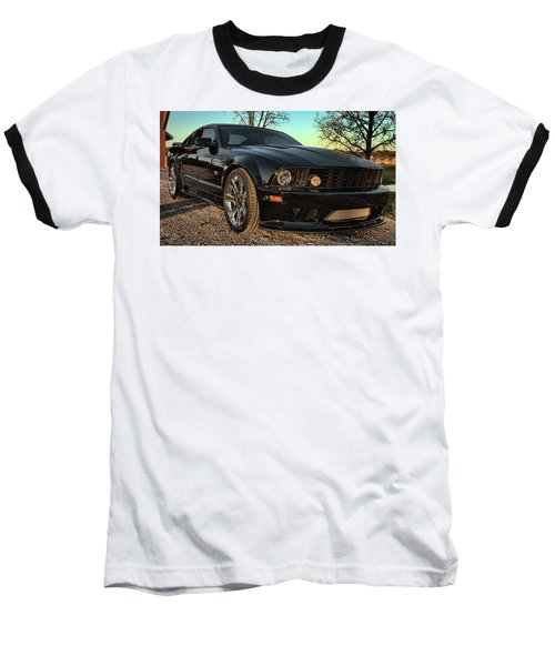 Saleen Baseball T-Shirt by John Crothers