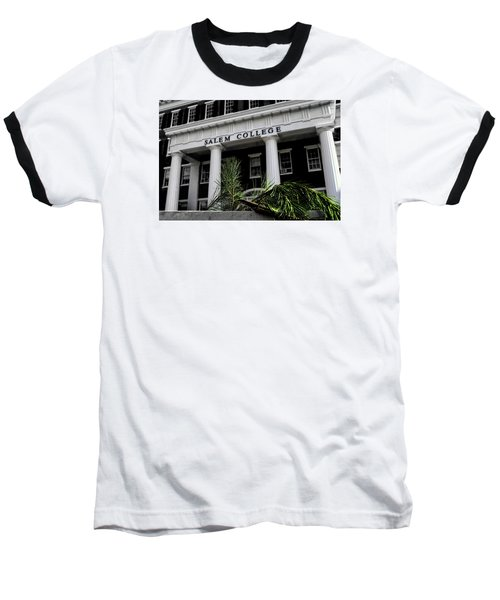 Baseball T-Shirt featuring the photograph Salem College by Jessica Brawley