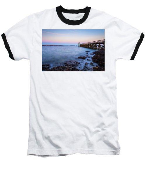Salem Willows Sunset Baseball T-Shirt