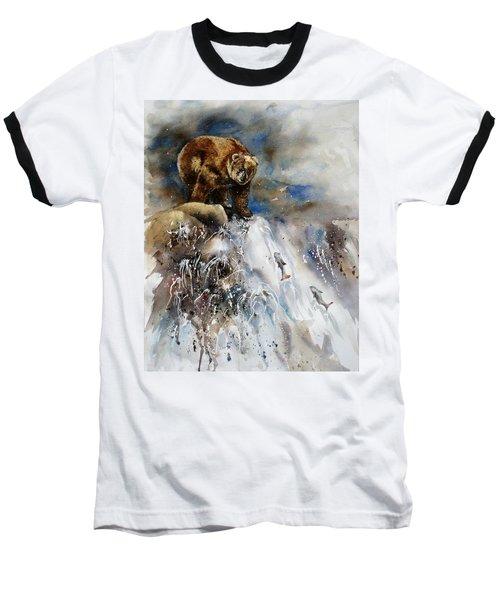 Salmon Run Baseball T-Shirt