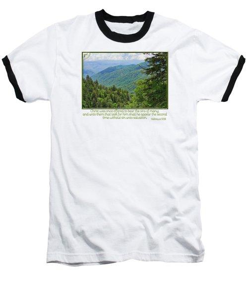 Salvation Eternal Baseball T-Shirt