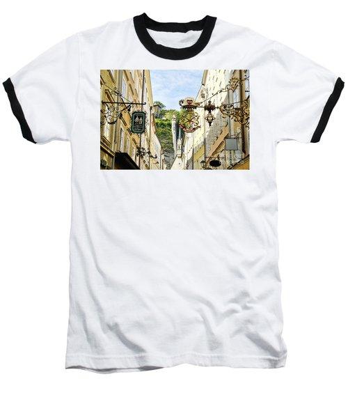 Salzburg Shopping Baseball T-Shirt